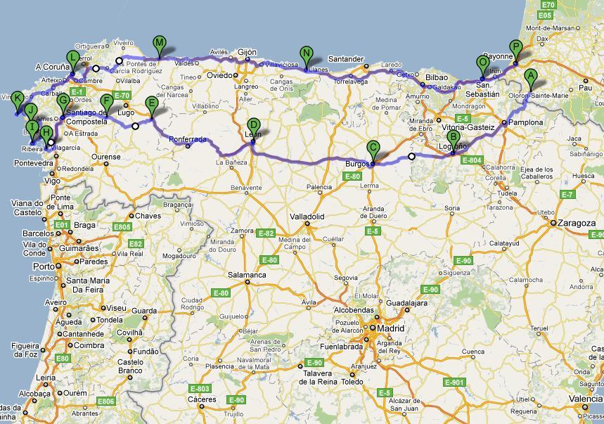 Nord Della Spagna Cartina.Spagna Junglekey It Immagini 50