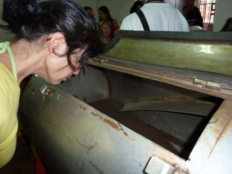 i cesti dove il tè viene aromatizzato