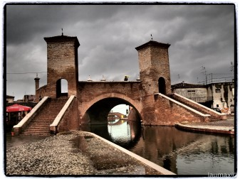 Comacchio - Ponte dei Trepponti - Italy