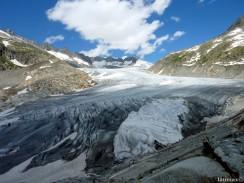 Rhonegletscher - il ghiacciaio del Rodano - Switzerland