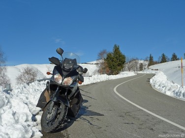 Road to Mottarone Mountain - Piemonte - Italy