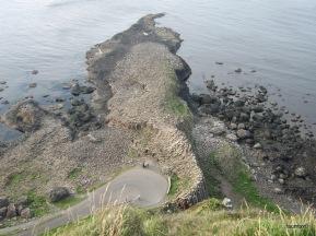 Basalt of Giants' Causeway - Northern Ireland