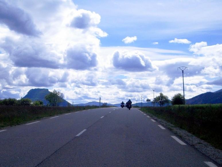 Verso Nyons - foto di Ab