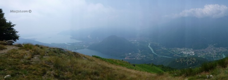 Monte Faié - Panorama verso sud