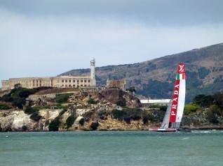 Luna Rossa ad Alcatraz !