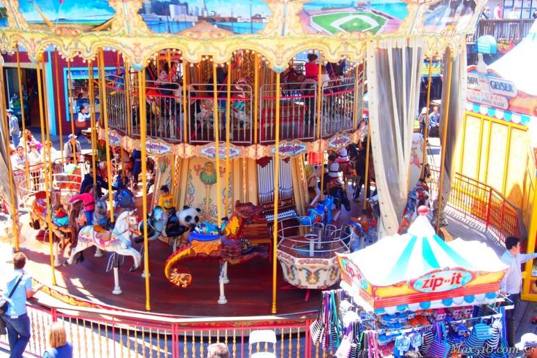 Carousel at Pier 39 - San Francisco