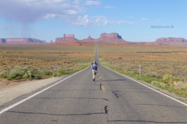 Forrest Gump Hill - Monument Valley -AZ