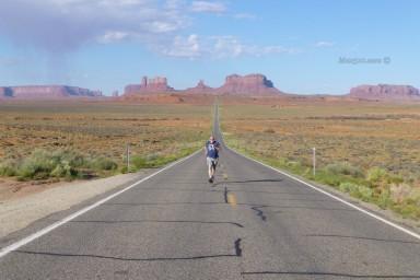Forrest Gump Hill - Monument Valley -AZ