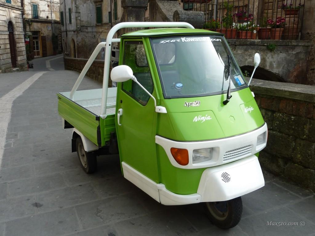 Italy - Tuscany - Ape Car