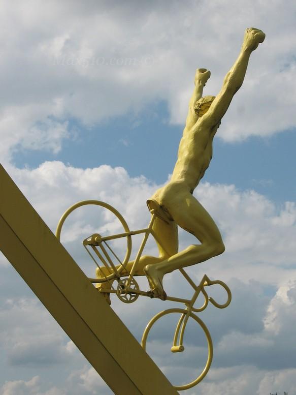 Monument at Tour de France