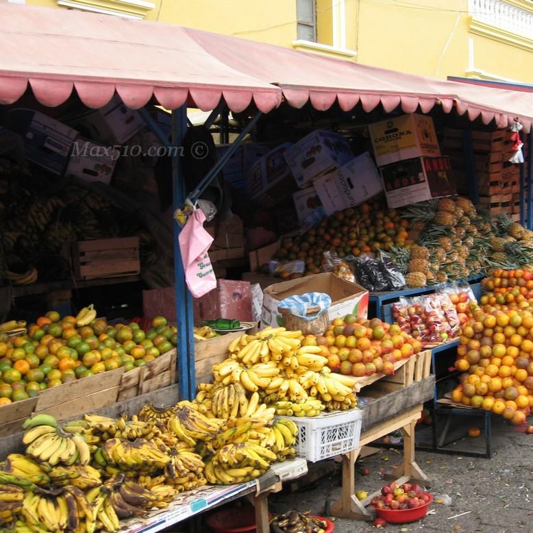 Market in Ecuador