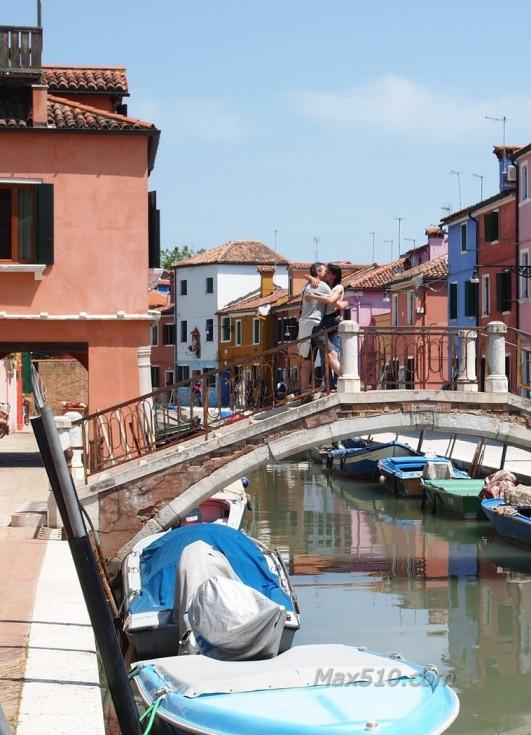 Romance in Burano - Venice - Italy