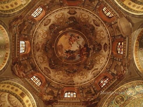 Volta Basilica San Vitale