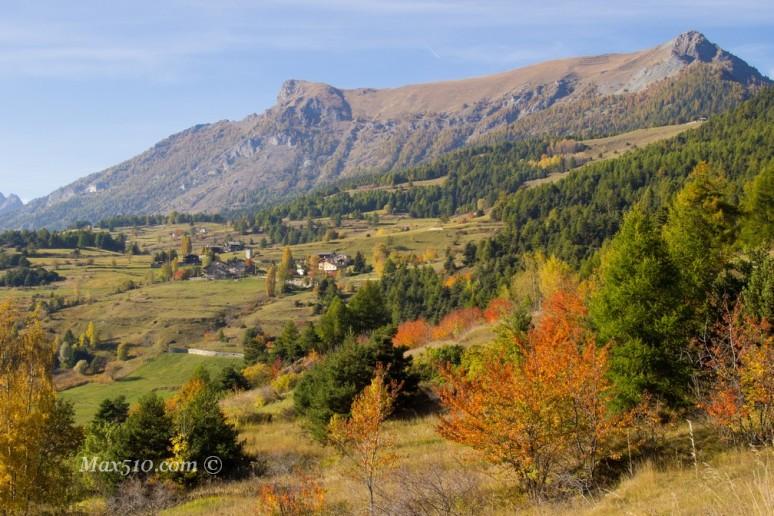 valle d'aosta dipinto