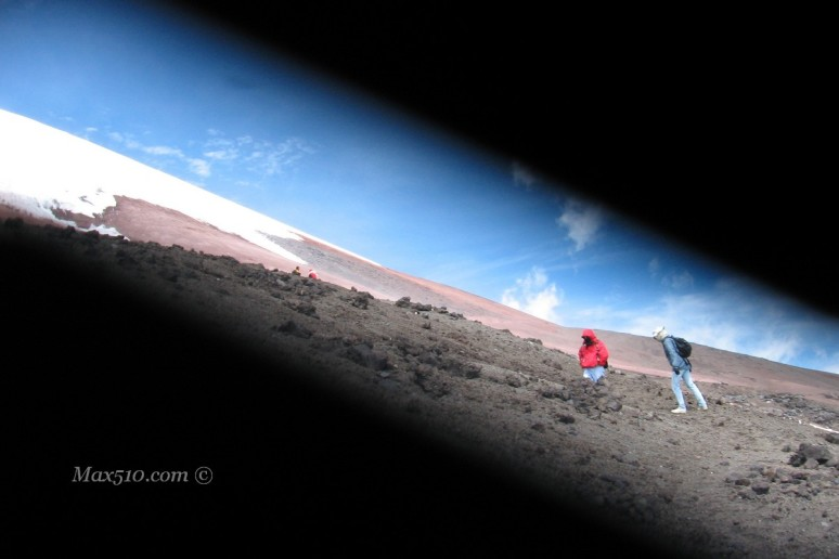 L'epica salita al Cotopaxi