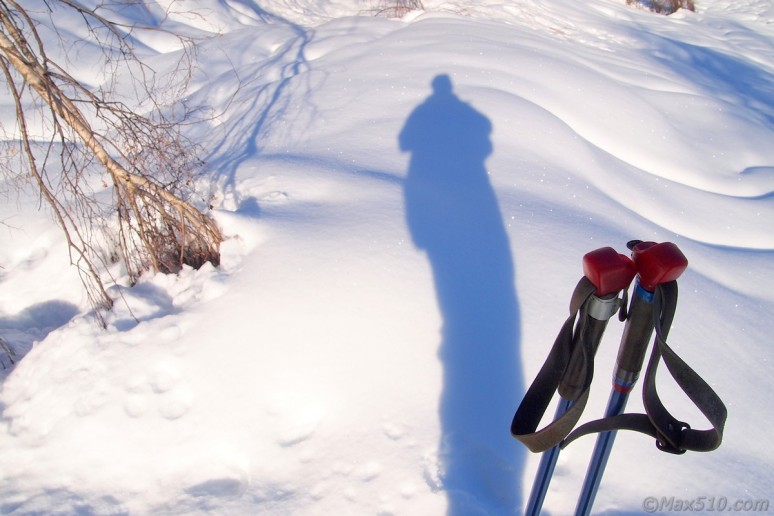 hike with snowshoes
