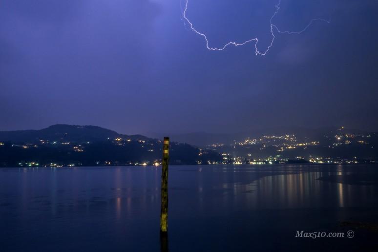 Storm Lake Maggiore