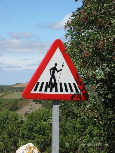 Spagna - Pericolo Pellegrini