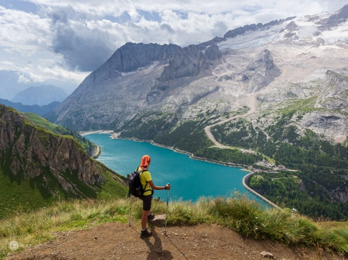 Dolomiti - Lago Fedaia